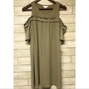 Lauren Conrad cold shoulder dress size small
